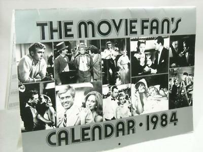 1984 The Movie Fan's Calendar Universe Books Calendar