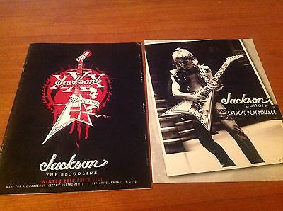 jackson guitar Catalogs