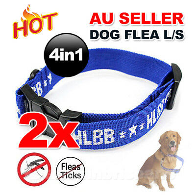 2X Hot for Dog Pet Flea Collar Kill Repel Flea Egg Mosquitoe Tick Control Remedy