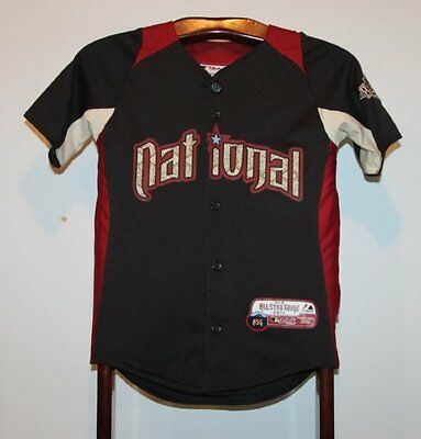 Maillot Trikot Jersey Mlb Baseball 2011 All Star American League 10 ans