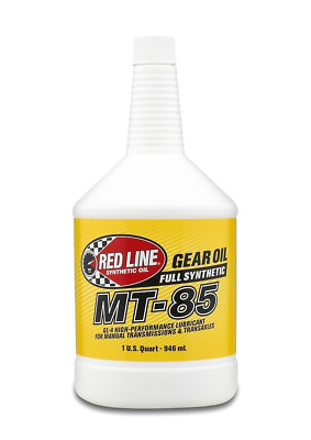 Red Line (50504) MT-85 75W-85 GL-4 Manual Transmission and Transaxle Lubricant -