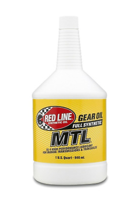Red Line (50204) SAE 75W80 API GL-4 Manual Transmission and Transaxle Lubricant