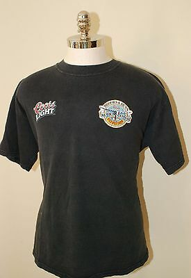 Lot Of (2) Brooks And Dunn Concert T-Shirt Neon Circus/Coors Light Plus Hat