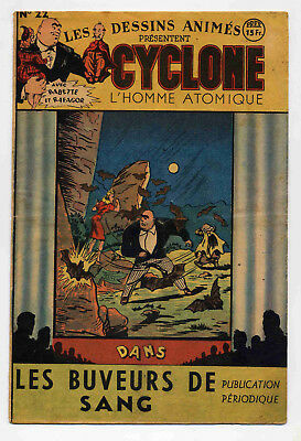 Cyclone L'Homme atomique n°22 1948 TBE