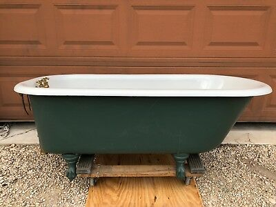 Antique Claw Foot Tub 1939 American Radiator & Standard Sanitary Cast Iron