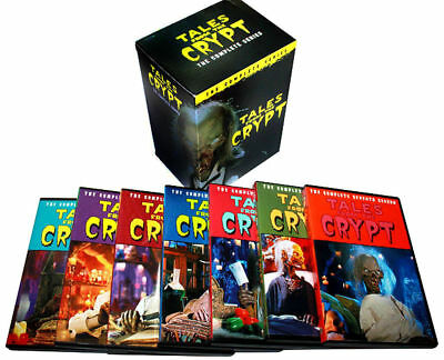 Tales from the Crypt: The Complete Series Season 1-7 (DVD, 2017 20-Disc Box Set)