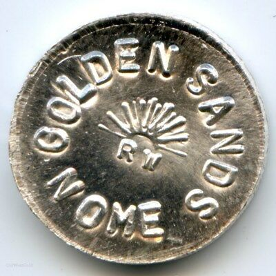 Alaska HR-5 Privately Minted Golden Sands Nome RW Die Trial 1 DWT in Silver