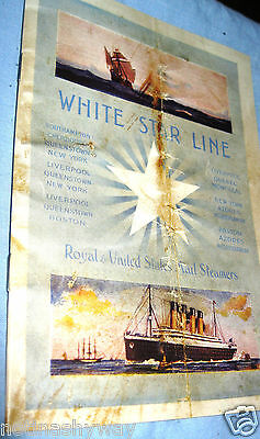 TITANIC Old Ship Retro Book Photo Disaster Antique Vintage Ocean Liner Boat Sea