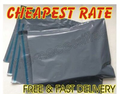 Grey Mailing Plastic Postage Post Packing Postal Courier Bags NEW