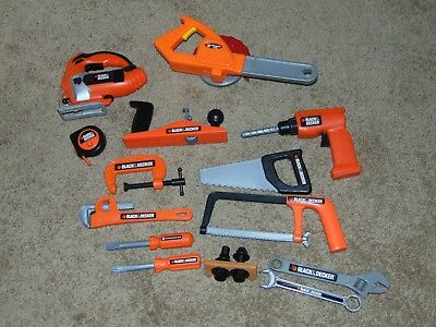 Lot Of Black & Decker And Home Depot Kids Tools