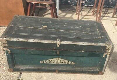 Primitive Carpenters Tool Box OLD OLD OLD Great Style