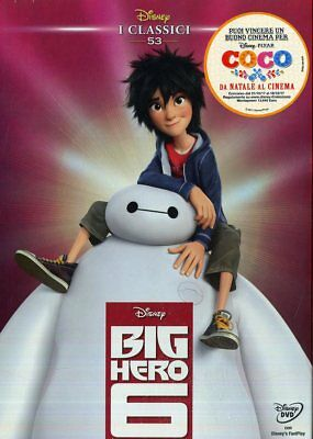 Cartone Animato - Big Hero 6 - Dvd (disney - i classici)