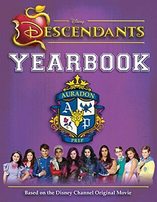 Disney Descendants Yearbook by Disney Book The Cheap Fast Free Post