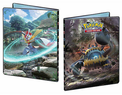 Pokemon Sun & Moon Crimson Invasion Sm4 Album Portfolio 9 Pocket Holds 180 Cards