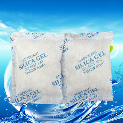 Cotton Packets Of Silica Gel Desiccant Moisture Absorber Moistureproof 1~50Pack