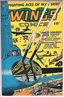 Wings #57 VF- Gorgeous!