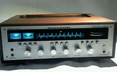 Vintage marantz model 2270 stereo receiver w/custom beautiful rare wood cabinet