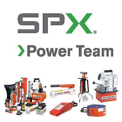 RB8013S SPX Power Team Press, Electric, 80 Ton Roll-Bed, Double UPC #66253600273