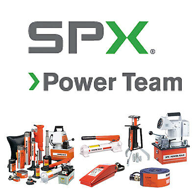 RB10013S SPX Power Team Press, Electric, 100 Ton Roll-Bed, Double UPC #662536002