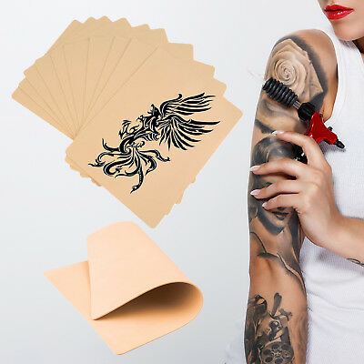 Synthetic Tattoo Practice Fake Skin Double Sided Blank Artificial Beginners