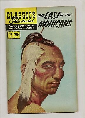 Classics Illustrated The Last of the Mohicans James Fenimore Cooper#4 1967