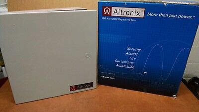 Altronix AL600ULX Power Supply/Charger 12 or 24 VDC 6 Amp w/Gray Enclosure