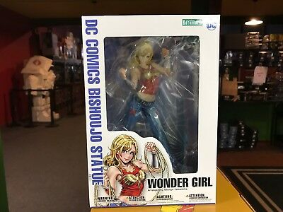 2016 Kotobukiya DC Comics Bishoujo Statue WONDER GIRL Action Figure MIB