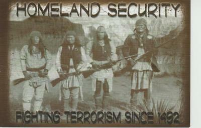 Homeland Security Fighting Terrorism Since 1492 Vintage Photograph Shown PC 2006