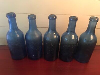 Blount Springs Natural Sulfur Water Bottle Collection Lot