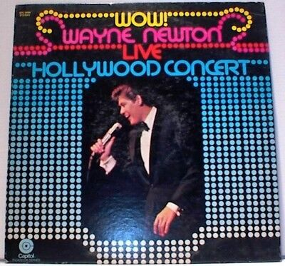 LP Wayne Newton Wow! Live Hollywood Concert STILL SEALED NEW OVP Capitol Re