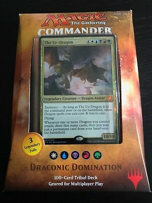 Magic The Gathering MTG Commander 2017 Deck Draconic Domination (Factory Sealed)