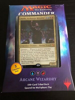 Magic The Gathering MTG Commander 2017 Deck Arcane Wizardry (Factory Sealed)