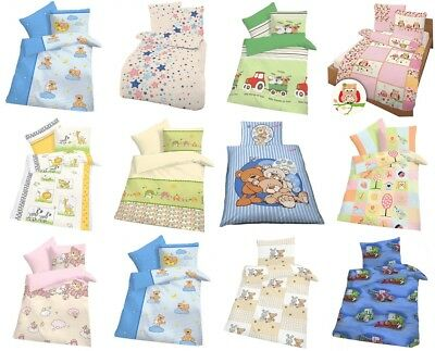 Biber Baby Bettwäsche Winter Warm Weich Kinder 40x60 cm + 100x135 cm