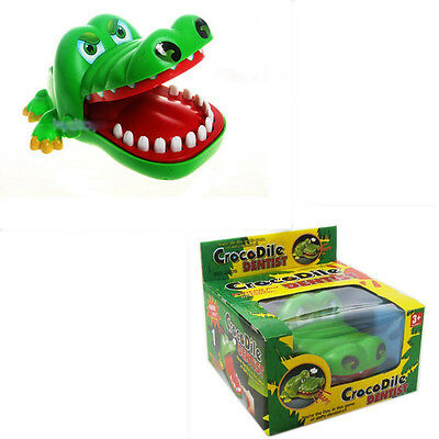 Funny Crocodile Dentist Game Big Mouth Bite Fingers Prank Toys For Kids & Adults