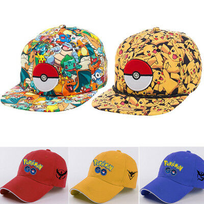Pokemon Go Caps Hat Cool Team Valor Team Mystic Team Instinct Pokemon Cap Unisex