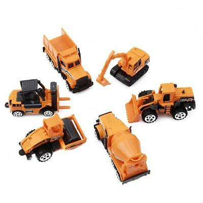 1pc Truck Mini Engineering Vehicles Construction Friction Trucks Car Toy B