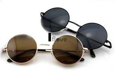 Oversized Hippie Fashion Retro Large Round Lennon Ladies sunglasses UK