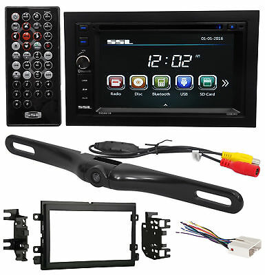2004-2006 Ford F-150 DVD/CD/AM/FM Receiver Player Monitor w/ Bluetooth+Camera
