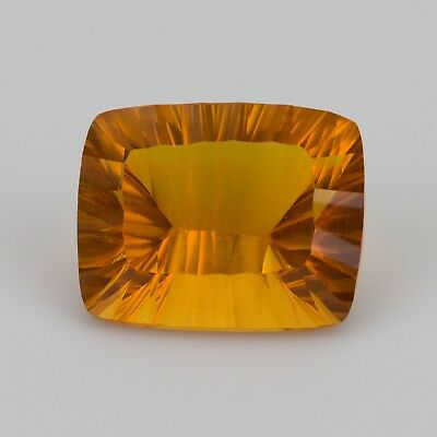 39.74 ct Large millennium cut Citrine with a stunningly warm honey gold colour