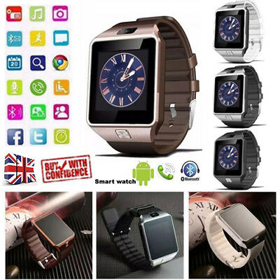 2017 DZ09 Bluetooth Smart Watch Phone + Camera SIM SLOT For Android & IOS Phone