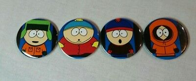 Lot Of 4 South Park Refrigerator Magnets- Cartman, Kenny, Stan, Kyle
