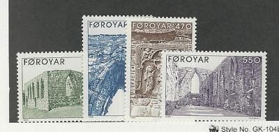 Faroe Islands, Postage Stamp, #182-185 Mint NH, 1988