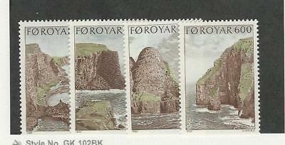 Faroe Islands, Postage Stamp, #197-200 Mint NH, 1989