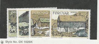 Faroe Islands, Postage Stamp, #243-246 Mint NH, 1992