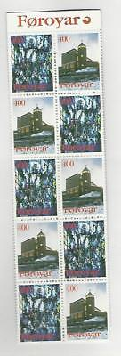 Faroe Islands, Postage Stamp, #294a Booklet Mint NH, 1995 (p)