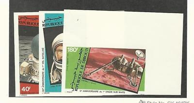 Djibouti, Postage Stamp, #C155-C157 Mint NH, 1982 Space