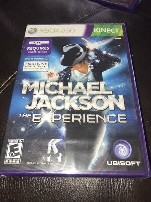 Xbox 360 Kinect Michael Jackson The Experience Brand New K12