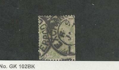 Great Britain, Postage Stamp, #107 Faults Used, 1884