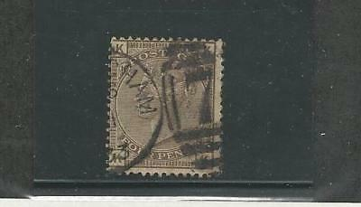 Great Britain, Postage Stamp, #71 Used, 1880 Nice Cancel