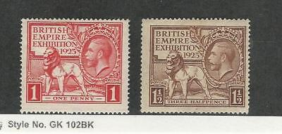 Great Britain, Postage Stamp, #203-204 Mint NH, 1925